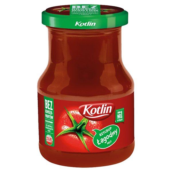 Ketchup Kotlin łagodny słoiczek