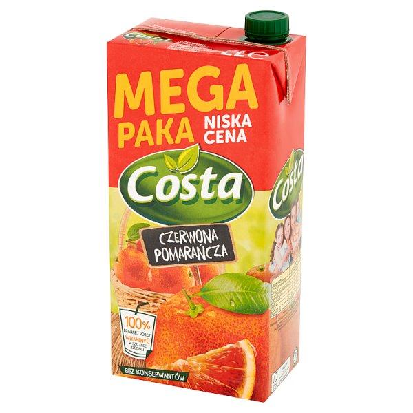 Napój Costa czerwone pomarańcze