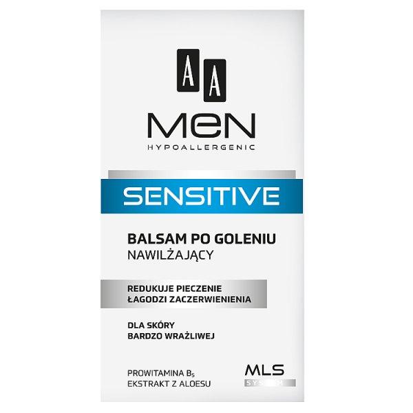 AA Men Sensitive Balsam po goleniu nawilżający