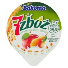 Jogurt Bakoma 7 zbóż jabłkowo - gruszkowy