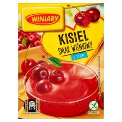Winiary Kisiel z cukrem smak wiśniowy 77 g