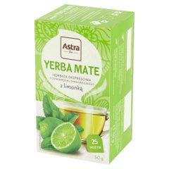 Herbata Astra YERBA MATE z limonką 50g