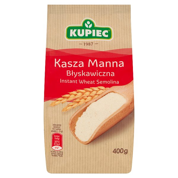 Kasza Manna Błyskawiczna Kupiec