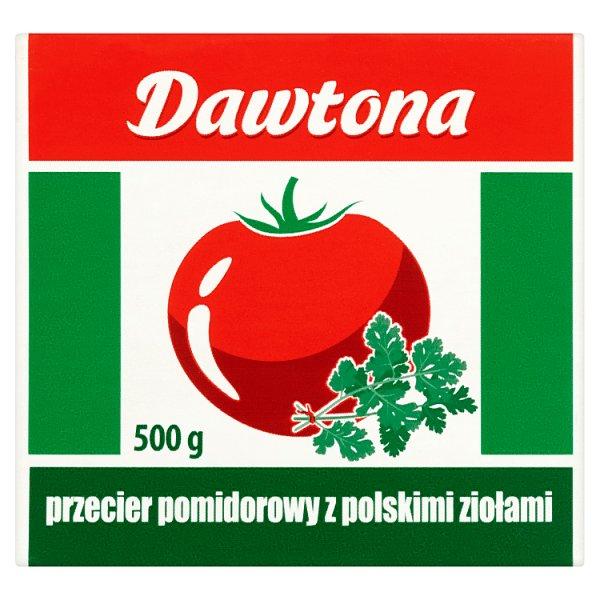 Dawtona Przecier pomidorowy z polskimi ziołami 500 g