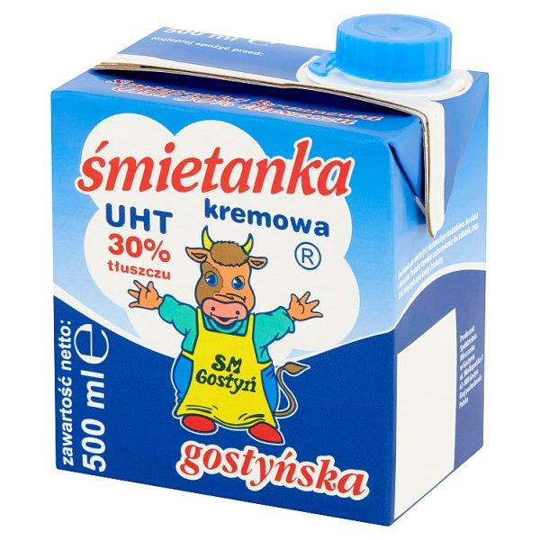 SM Gostyń Śmietanka kremowa UHT 30% 500 ml