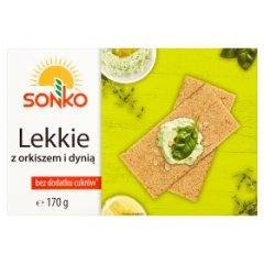 Pieczywo Sonko Lekkie z orkiszem i dynią