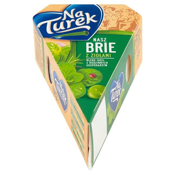 NaTurek Nasz Brie z ziołami 125 g