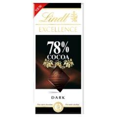 Lindt Excellence 78% Cocoa Czekolada ciemna 100 g