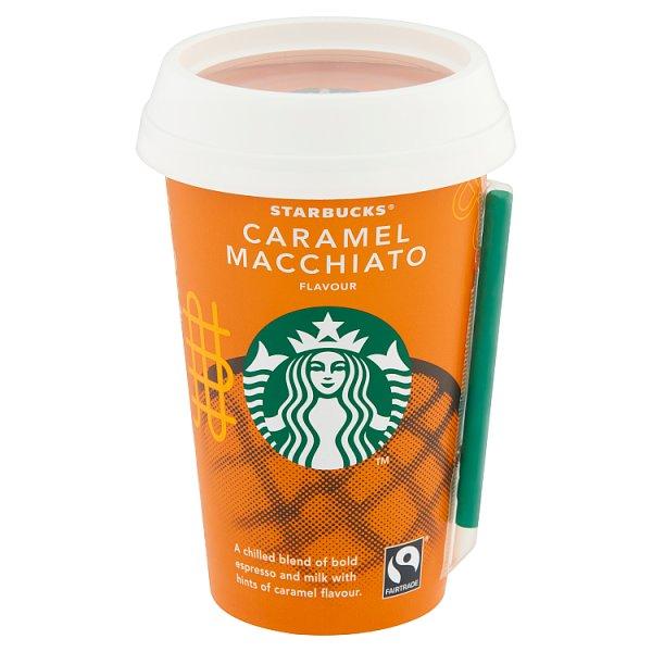 Starbucks Caramel Macchiato Mleczny napój kawowy 220 ml
