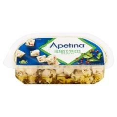 Arla Apetina Ser biały typu śródziemnomorskiego w zalewie olejowej z ziołami 100 g