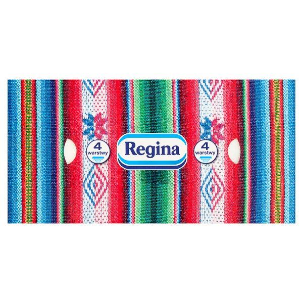 Regina Delicatis Chusteczki kosmetyczne 4 warstwowe 96 sztuk
