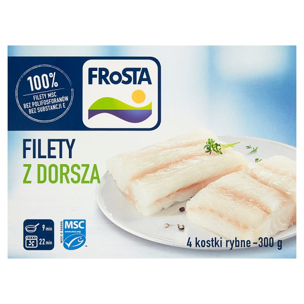 FRoSTA Filety z dorsza 300 g (4 sztuki)