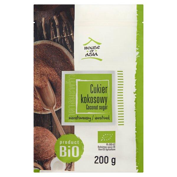 House of Asia Cukier kokosowy BIO 200 g