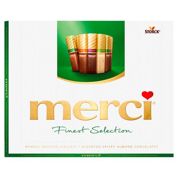 Merci Finest Selection Kolekcja czekoladek z migdałami 250 g