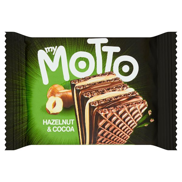 Wafelek orzechowo-kakaowy My Motto