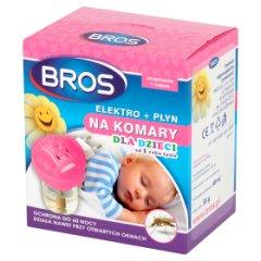 Bros Elektro + płyn na komary dla dzieci od 1 roku życia 40 ml