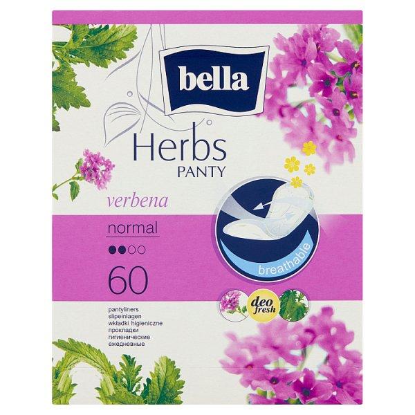 Bella Herbs Panty Verbena Normal Wkładki higieniczne 60 sztuk