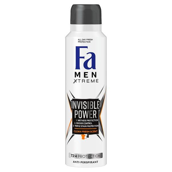 Fa Men Xtreme Invisible Power Antyperspirant 150 ml