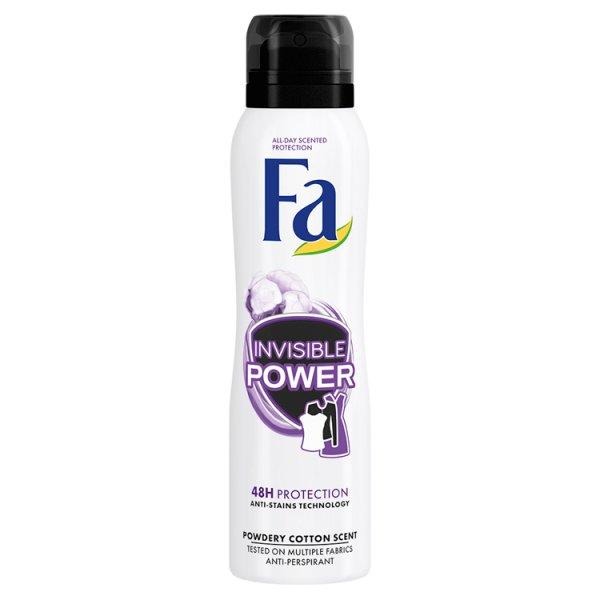 Dezodorant Fa spray Sport Invisible Power