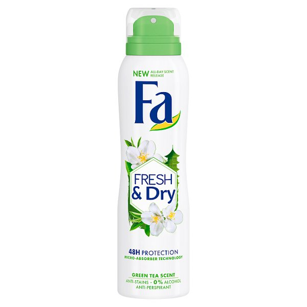 Fa Fresh & Dry Green Tea Dezodorant w sprayu