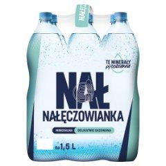 Woda Nałęczowianka DELIKATNIE GAZOWANA  6*1,5l/9L zgrzewka