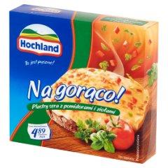 Ser Hochland na gorąco z pomidorami i ziołami plastry