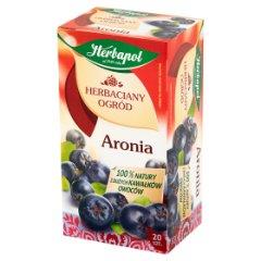 Herbapol Herbaciany Ogród Herbatka owocowo-ziołowa aronia 70 g (20 x 3,5 g)
