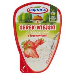 Serek Wiejski z truskawką