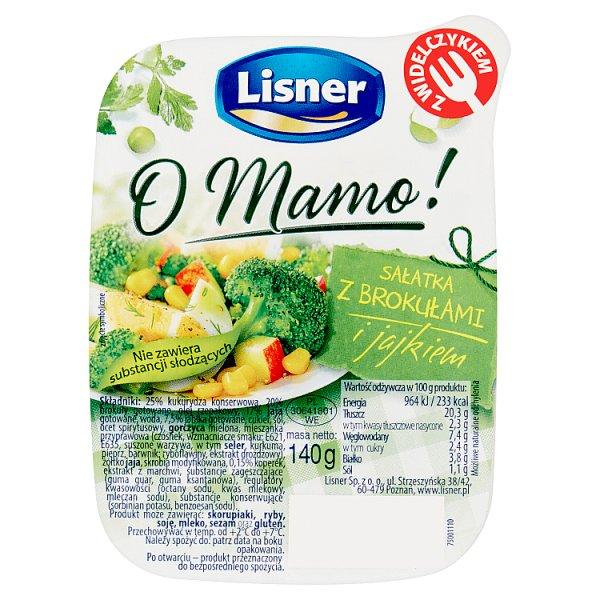 Lisner O Mamo! Sałatka z brokułami i jajkiem 140 g