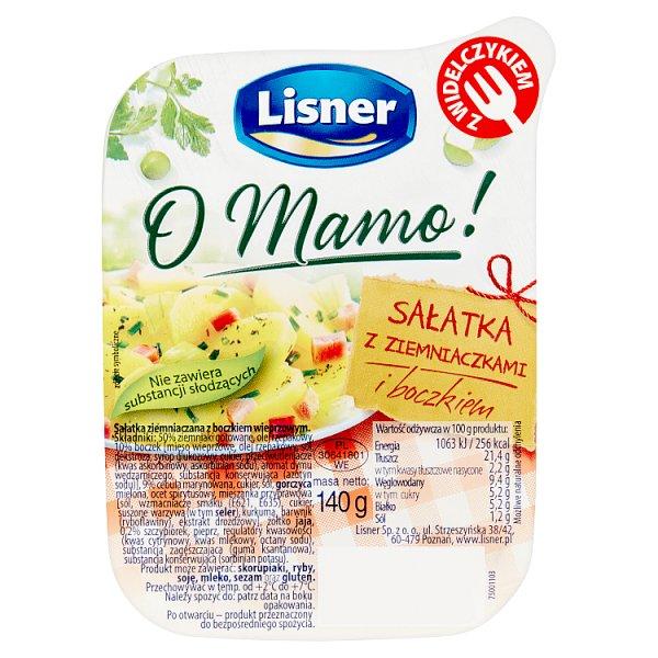 Lisner O Mamo! Sałatka ziemniaczana z boczkiem 140 g