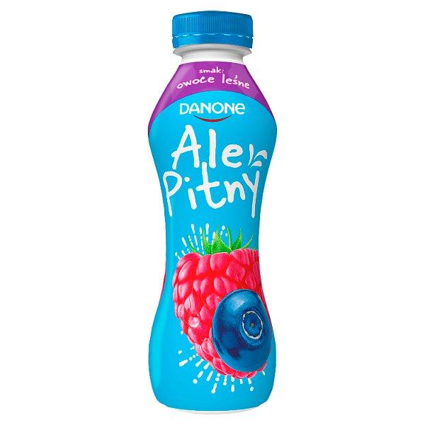 Napój jogurtowy pitny owoce leśne butelka