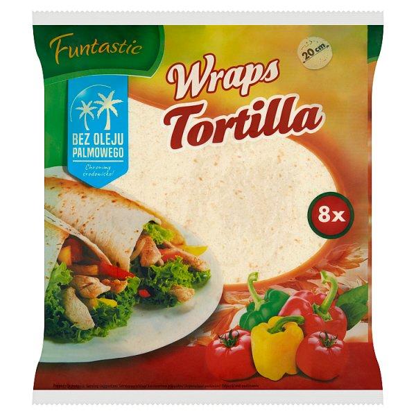 Funtastic Tortilla pszenna 296 g (8 x 37 g)