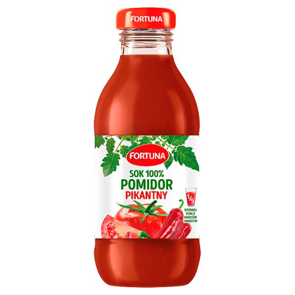 Fortuna Sok 100% pomidor pikantny 300 ml