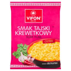 Vifon Tom Yum Zupa błyskawiczna smak tajski krewetkowy 70 g