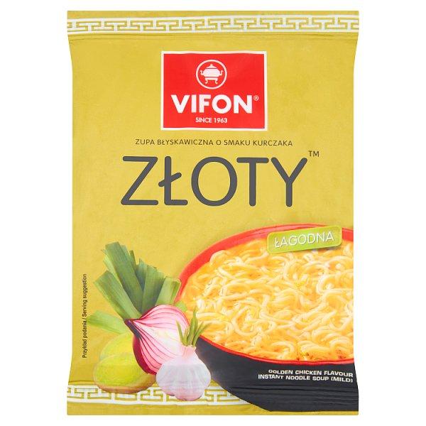 Vifon Zupa o smaku kurczaka złoty 70 g