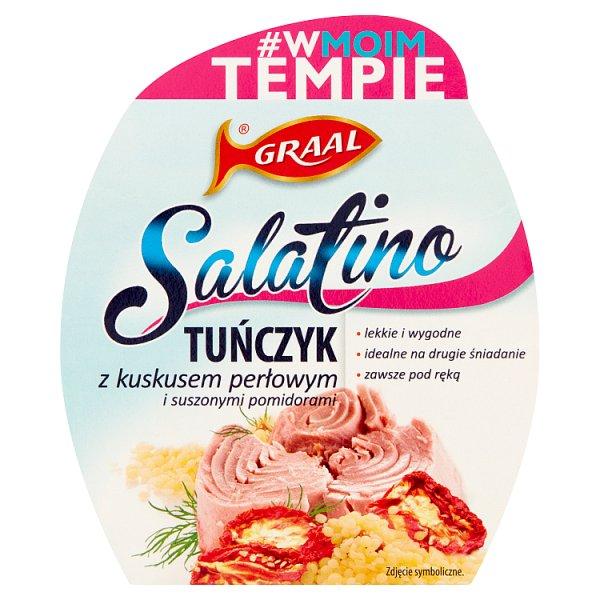 GRAAL Salatino Tuńczyk z kuskusem perłowym i suszonymi pomidorami 160 g