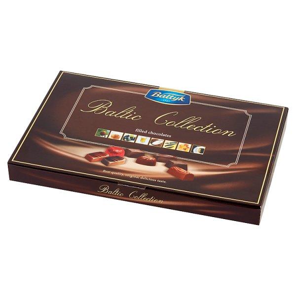 Bałtyk Baltic Collection Bomboniera czekoladki nadziewane 125 g