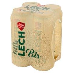 Piwo lech pils puszka