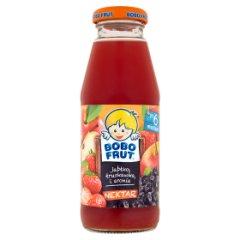 Nektar Bobo Frut jabłkowo -  truskawkowy