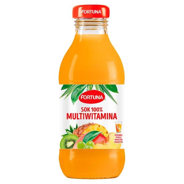 Fortuna Sok 100% multiwitamina 300 ml
