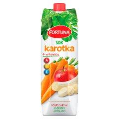 Sok Fortuna karotka jabłko-marchew-banan