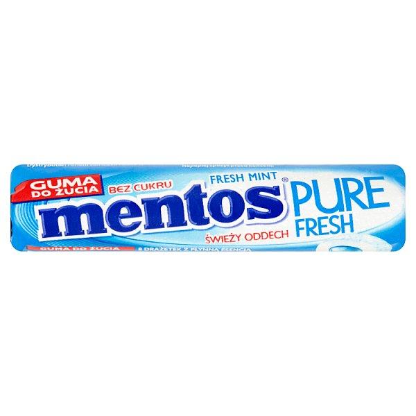 Mentos Pure Fresh Fresh Mint Guma do żucia bez cukru 15,5 g (8 sztuk)