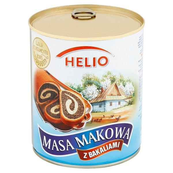 Helio Masa makowa z bakaliami 850 g