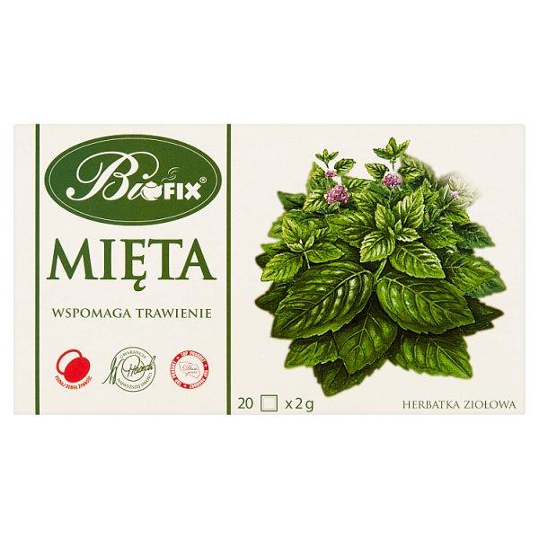 Bifix Herbatka ziołowa mięta 40 g (20 x 2 g)