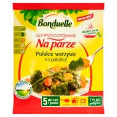Bonduelle Już przygotowane na parze Polskie warzywa na patelnię 400 g