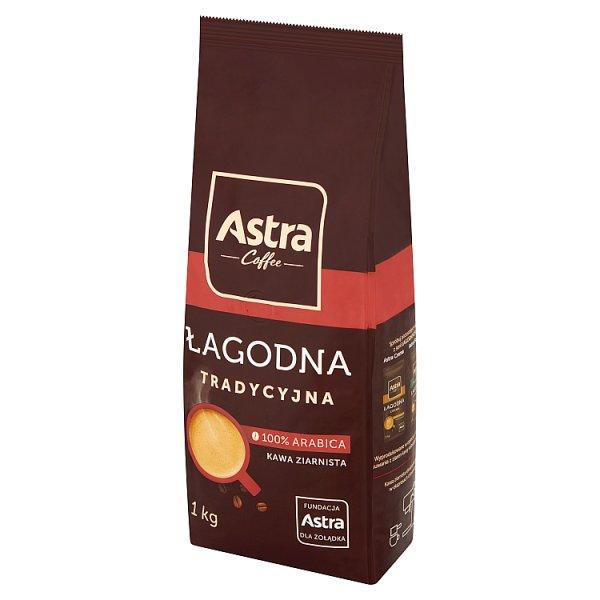 Astra Łagodna Tradycyjna kawa ziarnista 1 kg