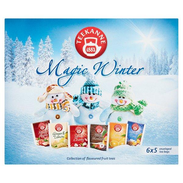 Teekanne Magic Winter Aromatyzowana mieszanka herbatek 68,75 g (6 x 5 torebek)