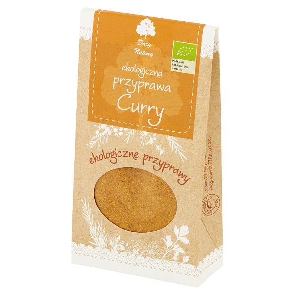 Dary Natury Ekologiczna przyprawa curry 60 g