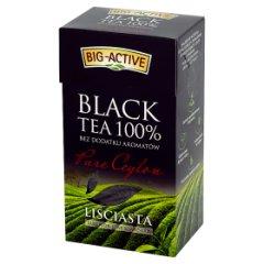 Herbata big active pure ceylon liściasta