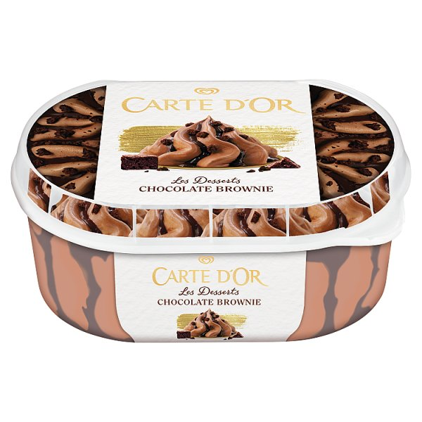 Carte D'Or Les Desserts Chocolate Brownie Lody 900 ml